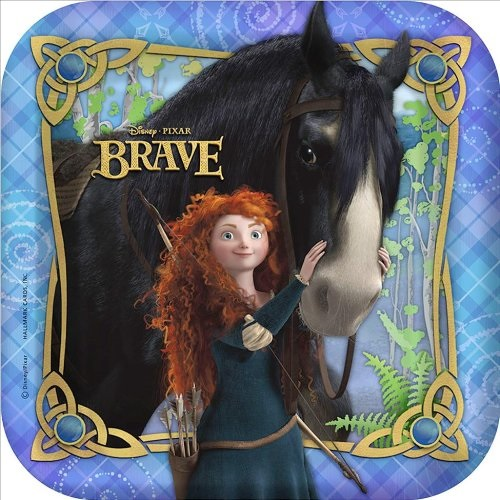 Brave Small Paper Plates (8ct)