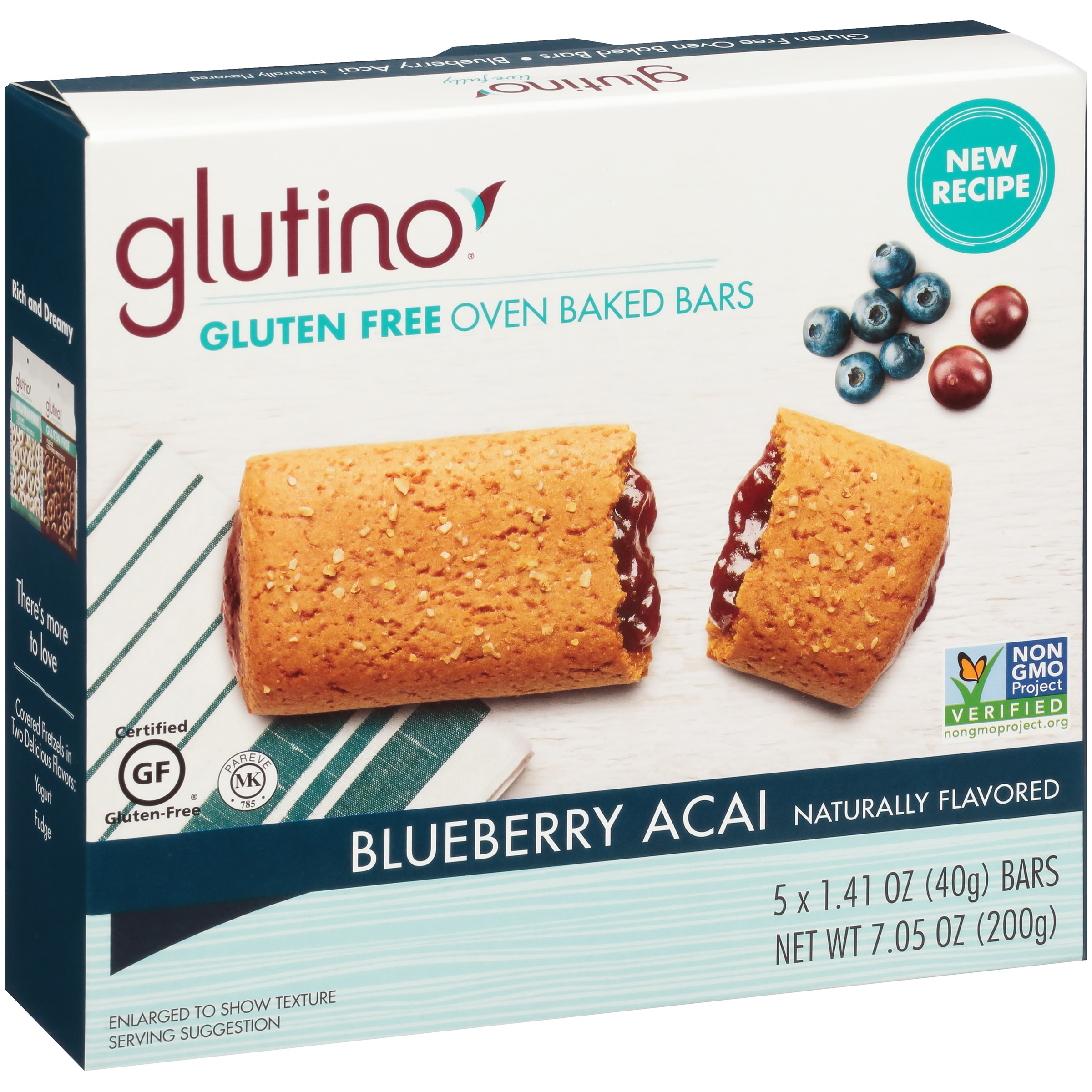 Glutino® Gluten Free Blueberry Breakfast Bars 5-1.41 oz. Bars