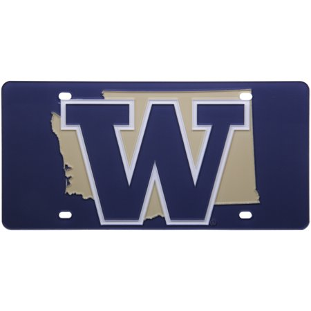 Washington Huskies State Pride License Plate - No Size