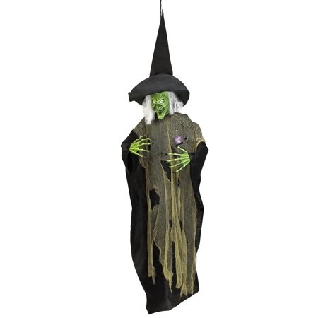 Halloween 7 foot Hanging Scary Evil Wicked Witch Prop Decoration](Halloween Scars)