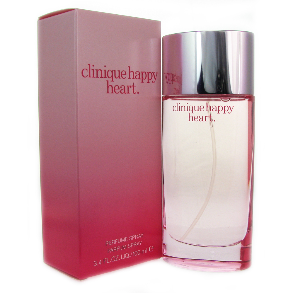 Clinique Happy Heart Women 3.4 oz Perfume Spray - Walmart.com