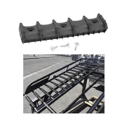 Bowdriks Industries 4051 RAMP-BAR 1-KIT Ramp Crossbar Protector with Traction - Pair