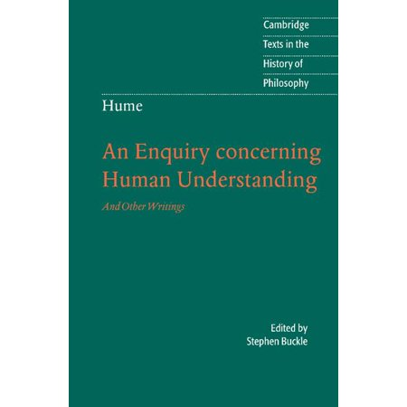 An Enquiry Concerning Human Understanding : And Other Writings David Yurman Buckle