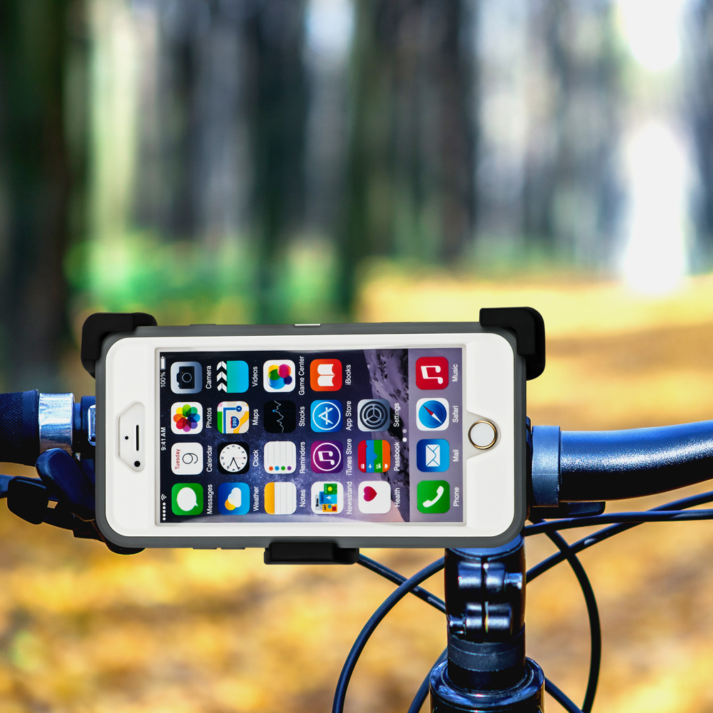 Gear Beast Claw 3 Universal Bike Mount Holder Cradle 360 Degree Screen Rotation for iPhone 6, 6s, SE, Galaxy S7, S6, S6 edge, LG G5, G4, Nexus 5X and phones from LG, Sony, Nokia, HTC and Motorola