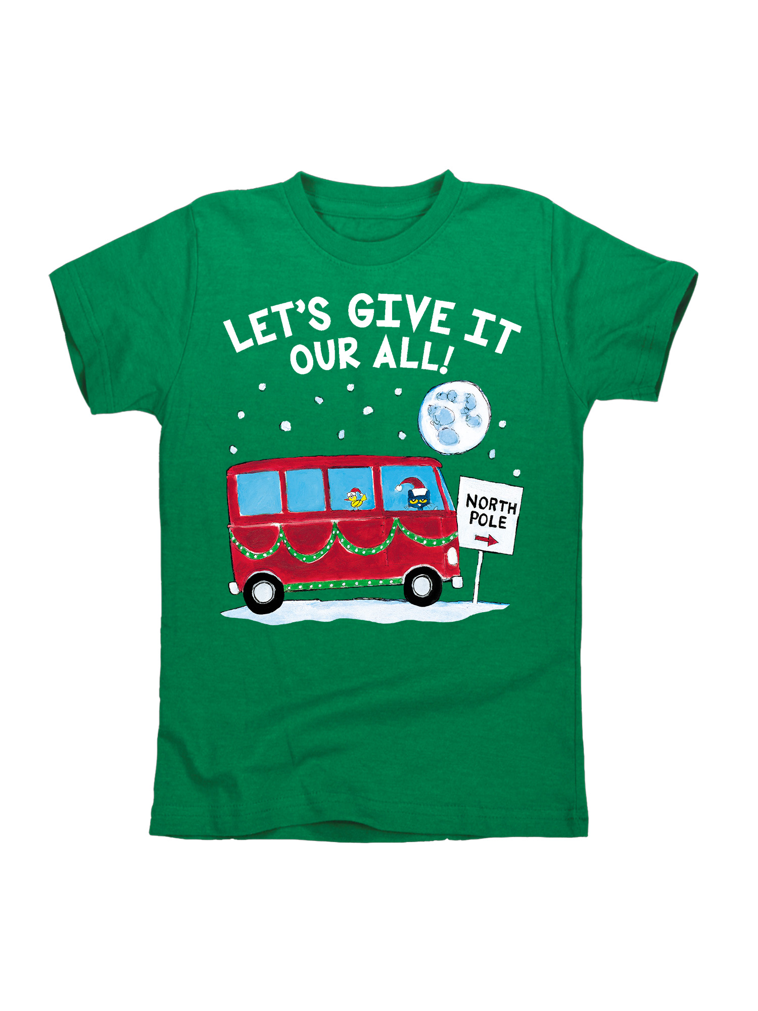 Pete The Cat Give It Your All! - Toddler Short Sleeve Tee