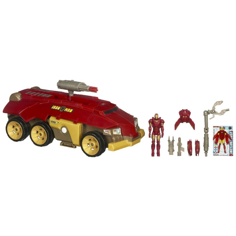 Iron Man Rolling HQ Vehicle
