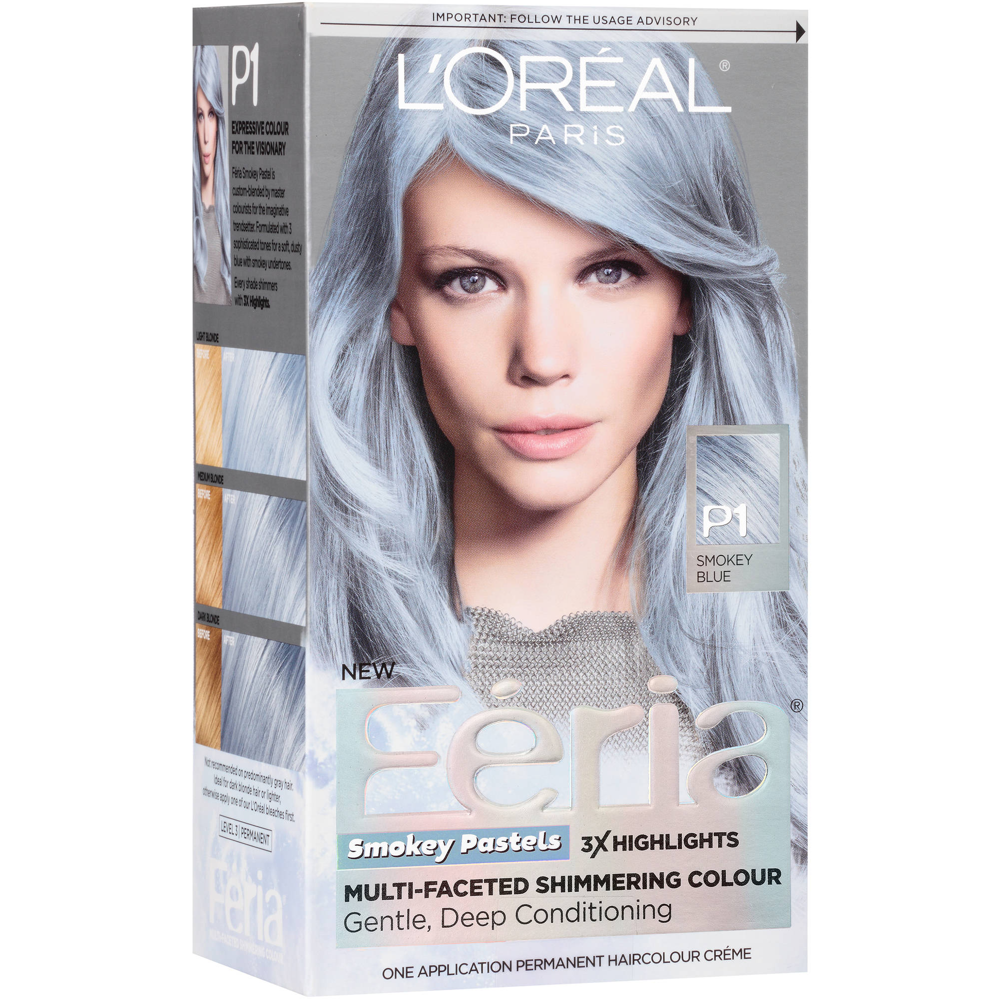 Image Gallery L Oreal Silver Hair Color