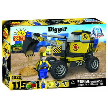 COBI Action Town Construction Digger, 115 Piece Set - image 1 de 1
