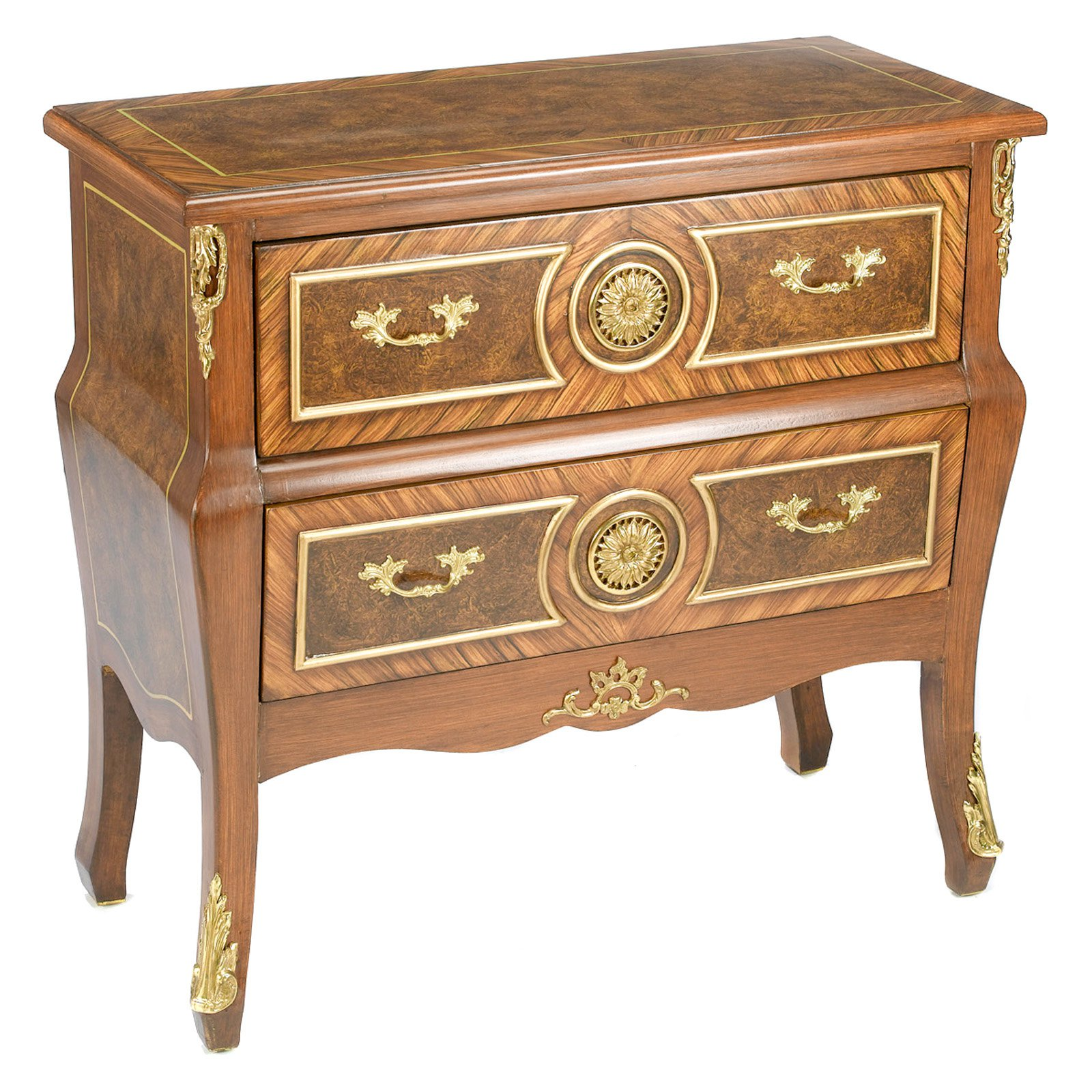 AA Importing 2 Drawer Chest Brown by AA Importing