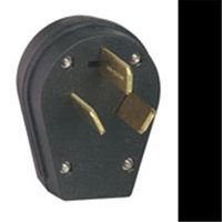 Eaton Wiring Devices S80-SP Angled, Universal Power Electrical Plug, 125/250 V, 30/50 A, Thermoplastic