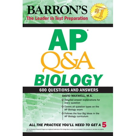 AP Q&A Biology : With 600 Questions and Answers (Ap Biology Multiple Choice Questions And Answers)