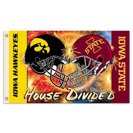 Bsi Products Ncaa Rivalry House Divided Traditional Flag