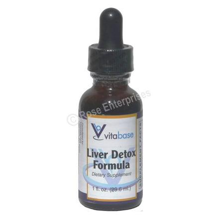 7 Ounce Liver - Vitabase Liver Detox Formula - 1 ounce