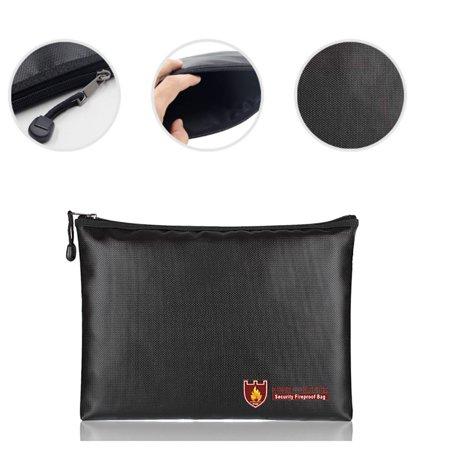 BEAD BEE Fireproof Document Bag Fire Resistant & Water Resistant Money Bag Safe