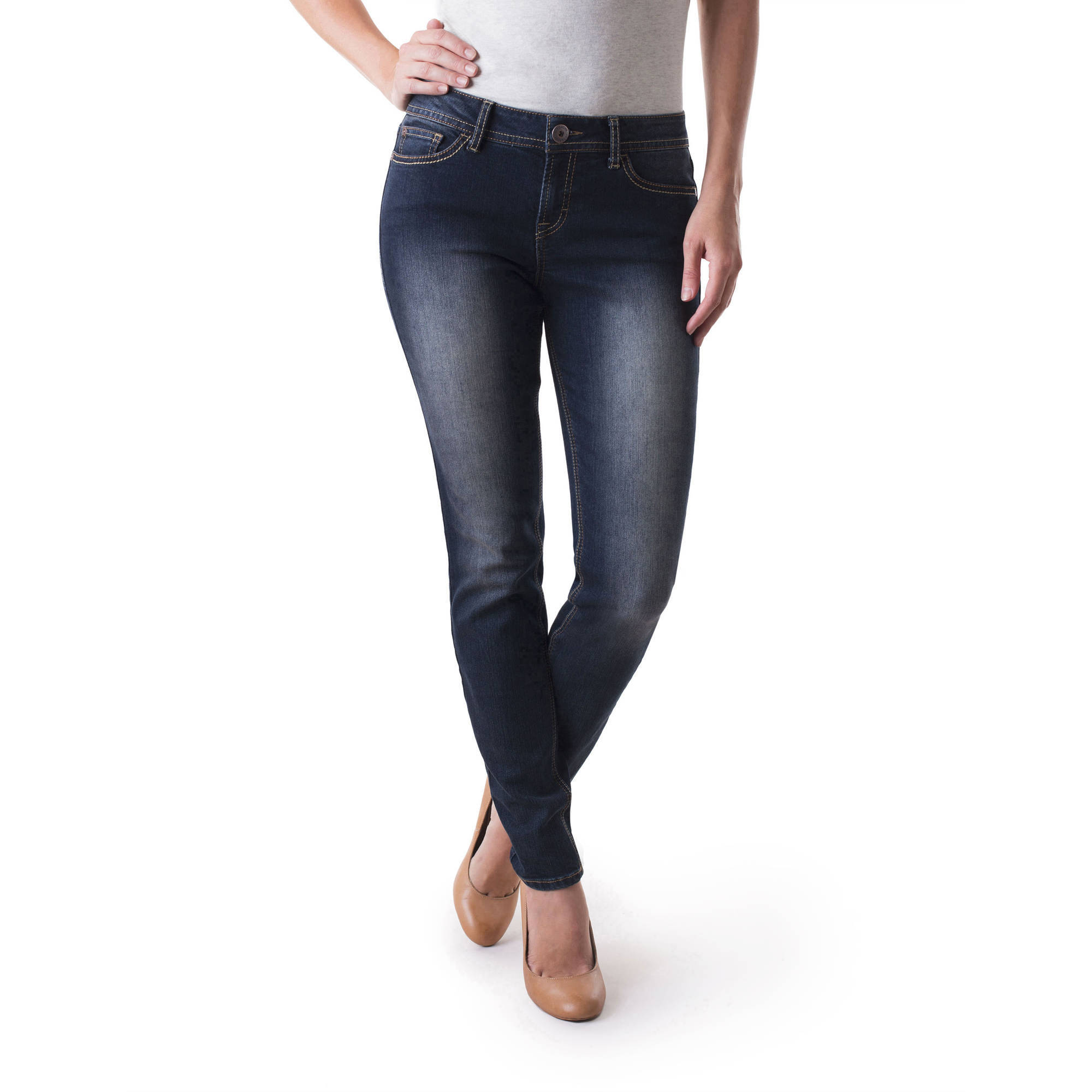 Jordache Women's Skinny Jeans Available in Regular and Petite