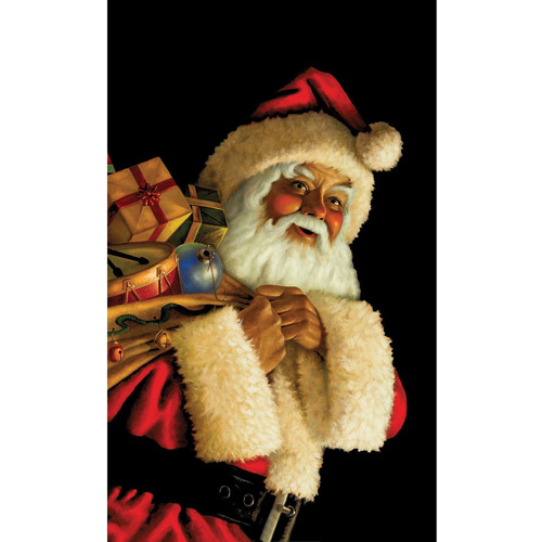 Santa Claus Window Christmas Accessory