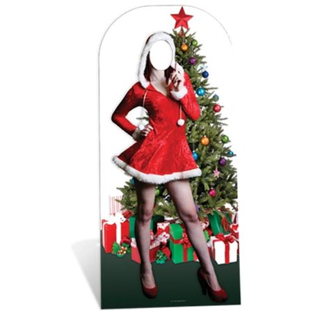Christmas Stand In Cutouts.Star Cutouts Sc178 Mrs Christmas Stand In Cardboard Cutout Standup