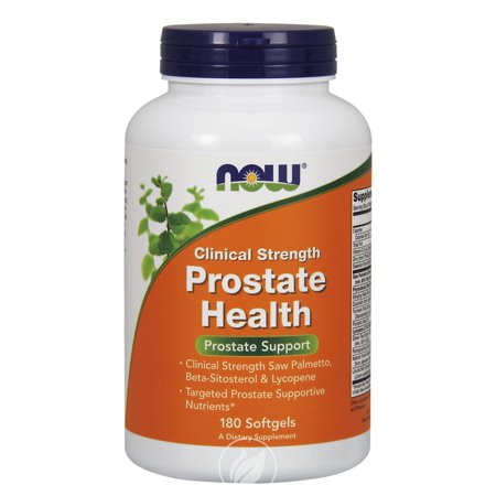 Now Foods Prostate Health, Clinical Strength, 180 Softgels, Pack of 2 (Now Prostate Support)