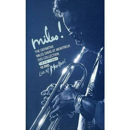Definitive Miles Davis At Montreux Dvd Collection