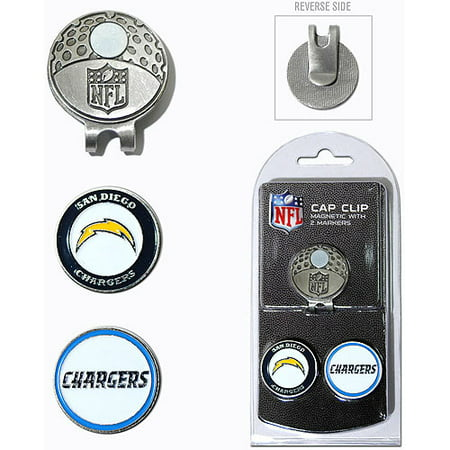 San Diego Chargers 2 Marker Cap (San Diego Chargers Money Clip)