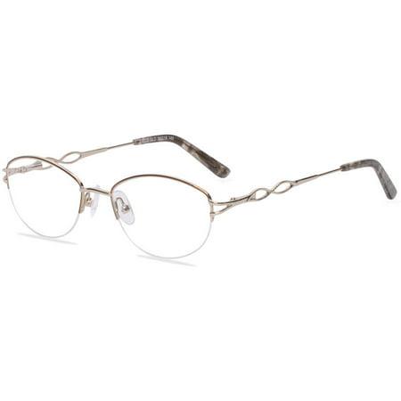 Visage Womens Prescription Glasses, E209 Gold - Walmart.com