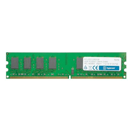 2GB Hyperam DDR2 667MHz PC2-5300 240-Pin Desktop Memory Module CL5