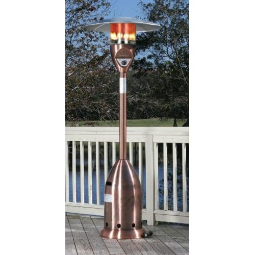 Fire Sense 55006 Copper Finish Deluxe Patio Heater