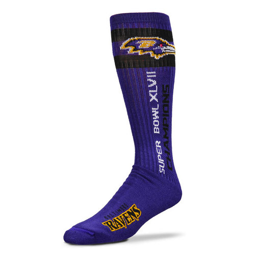NFL - Baltimore Ravens Super Bowl XLVII Champions Tube Socks