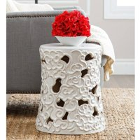 Devon and Claire Fiji Antique Ceramic Garden Stool, Multiple Colors