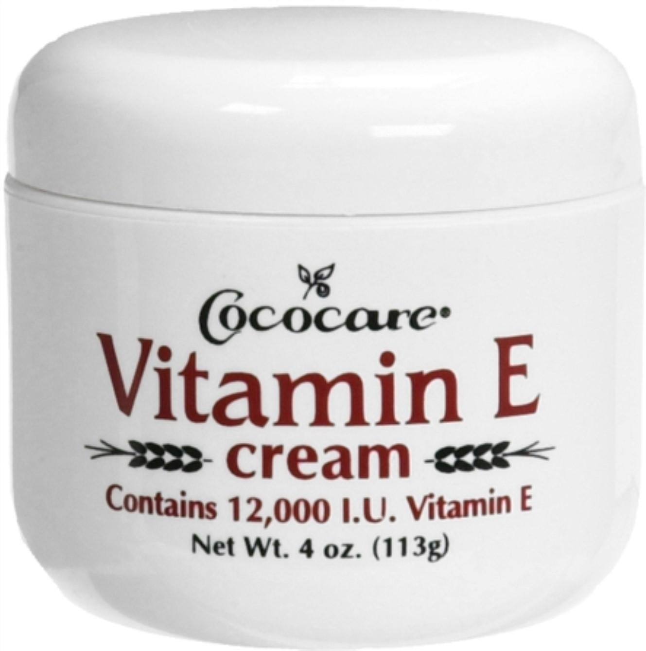 Cococare Vitamin E Cream 4 oz (Pack of 2)