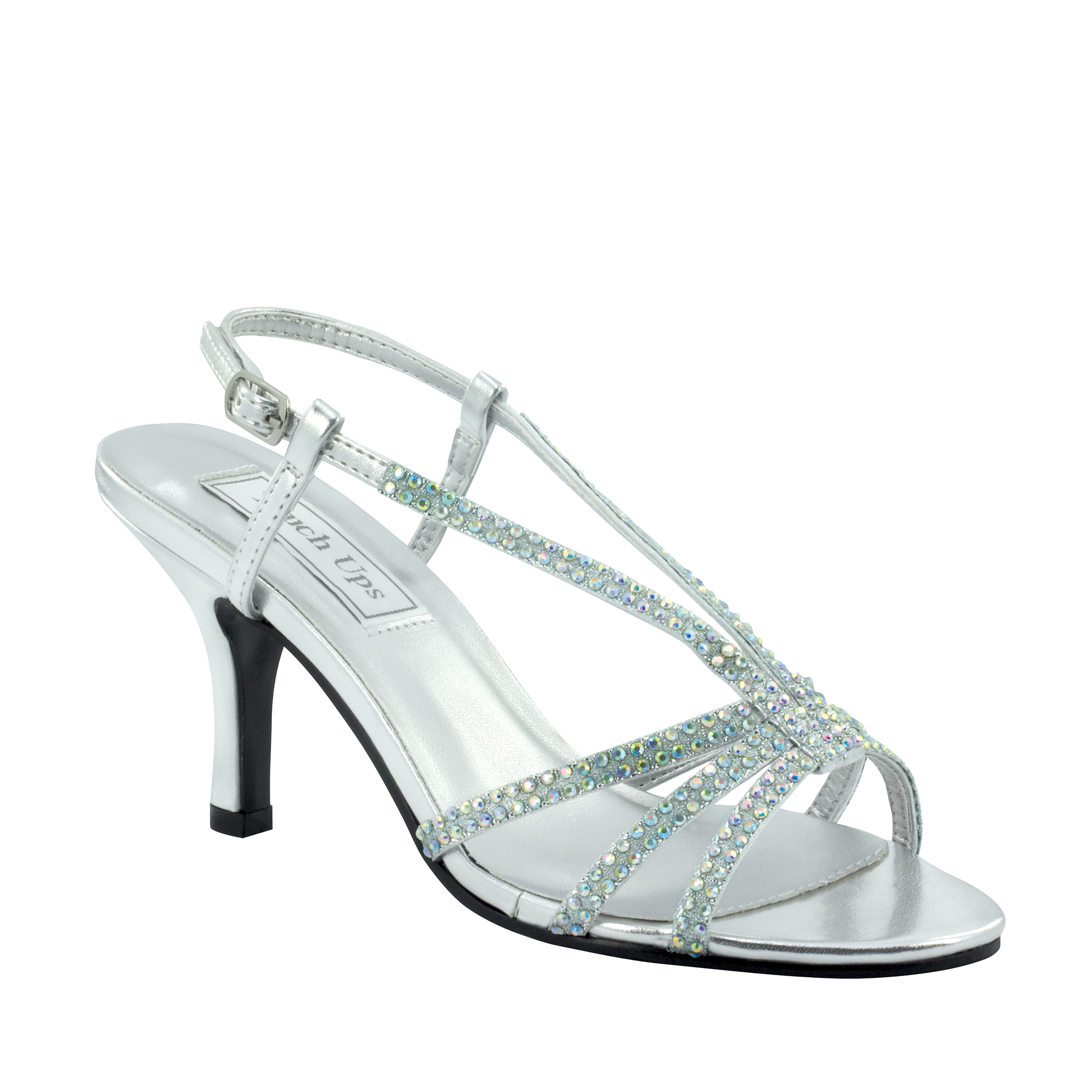 Image of Touch Ups Womens Lyric Sandal, Silver Metallic,8.5 W US