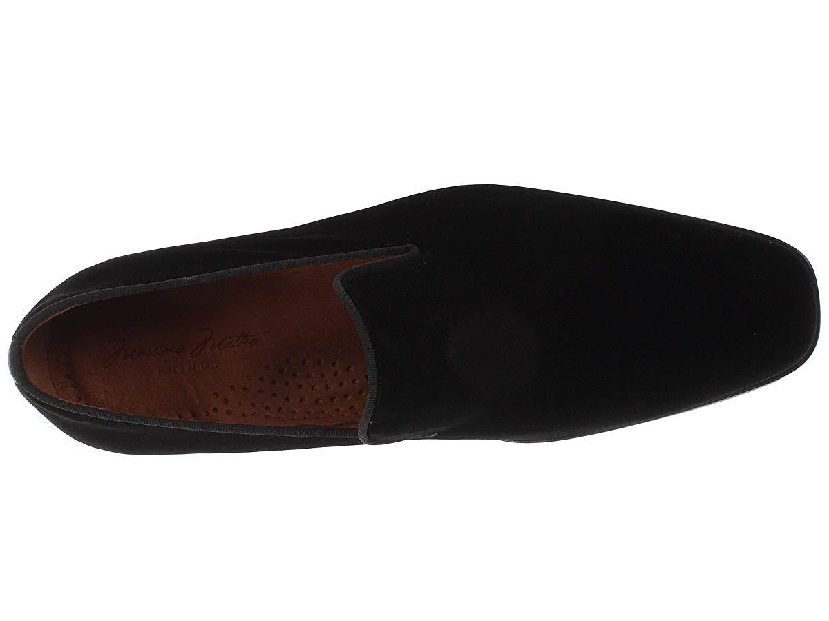 Massimo Matteo Mens Velvet Slip-On