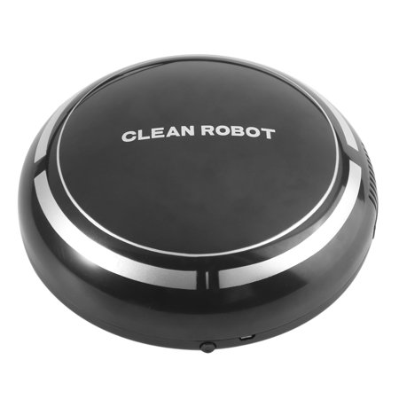 Dilwe Automatic Robot Vacuum Cleaner - Robotic Auto Home Sweeping Machine for Clean Carpet Hardwood Tile Floor Wet and Dry,Pet Hair,Fur,Allergens,Thin
