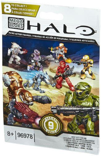 Mega Bloks Halo Halo Series 9 Minifigure Mystery Pack #96978-9 by