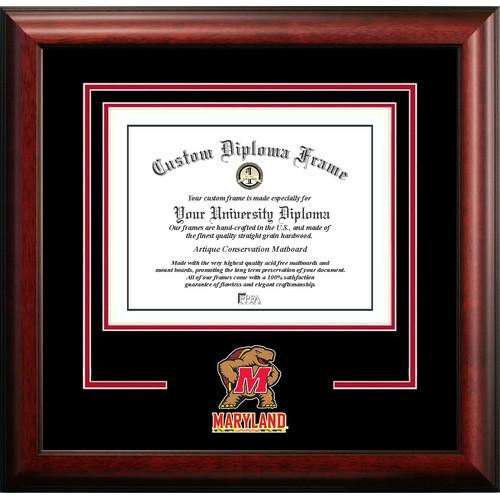 "Maryland Terrapins 13"" x 17"" Spirit Diploma Frame"