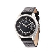 Empress EMPEM2401 Messalina Womens Mother of Pearl Leather Band Watch with Date - Black