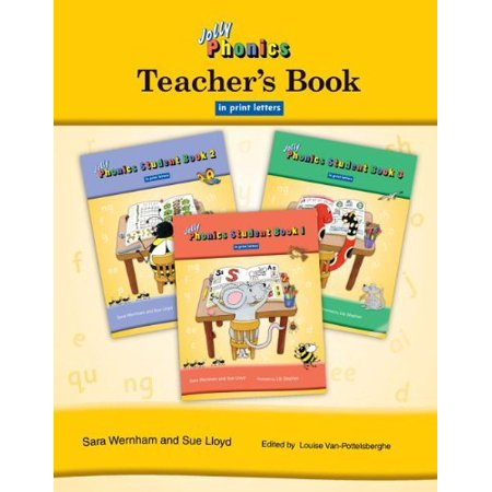 Jolly Phonics Teachers Book In Print Letters