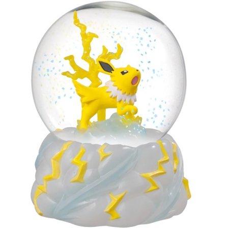 Pokemon Jolteon Snow Slow Life Globe - Snow Globe Photo Frame