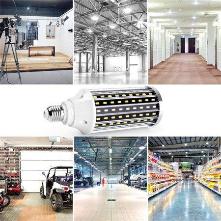 LED Corn Light Bulb Cool Daylight White Corn Bulb E26 Medium Base for Indoor Outdoor Garage Warehouse Factory Workshop Barn Backyard, 1PC - image 5 of 6