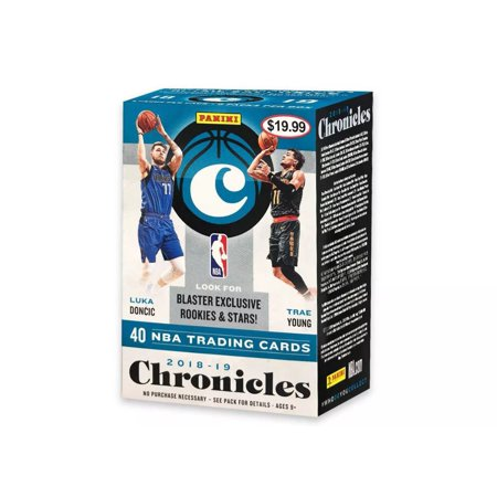 2019 Chronicles Basketball Blaster Box- Featuring Luka Doncic and Trae Young| On card Signatures Retail Exclusives |Gold Standard Rookie Jersey