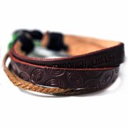 Bracelet-Football-I Can Do All Things-Leather