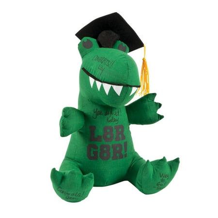 Autograph Plaque (Graduation Autograph Stuffed Gator)