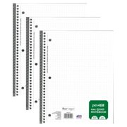 Pen + Gear 4 Pack 100 Sheets Graph Notebook, 10.5 in x 8 in