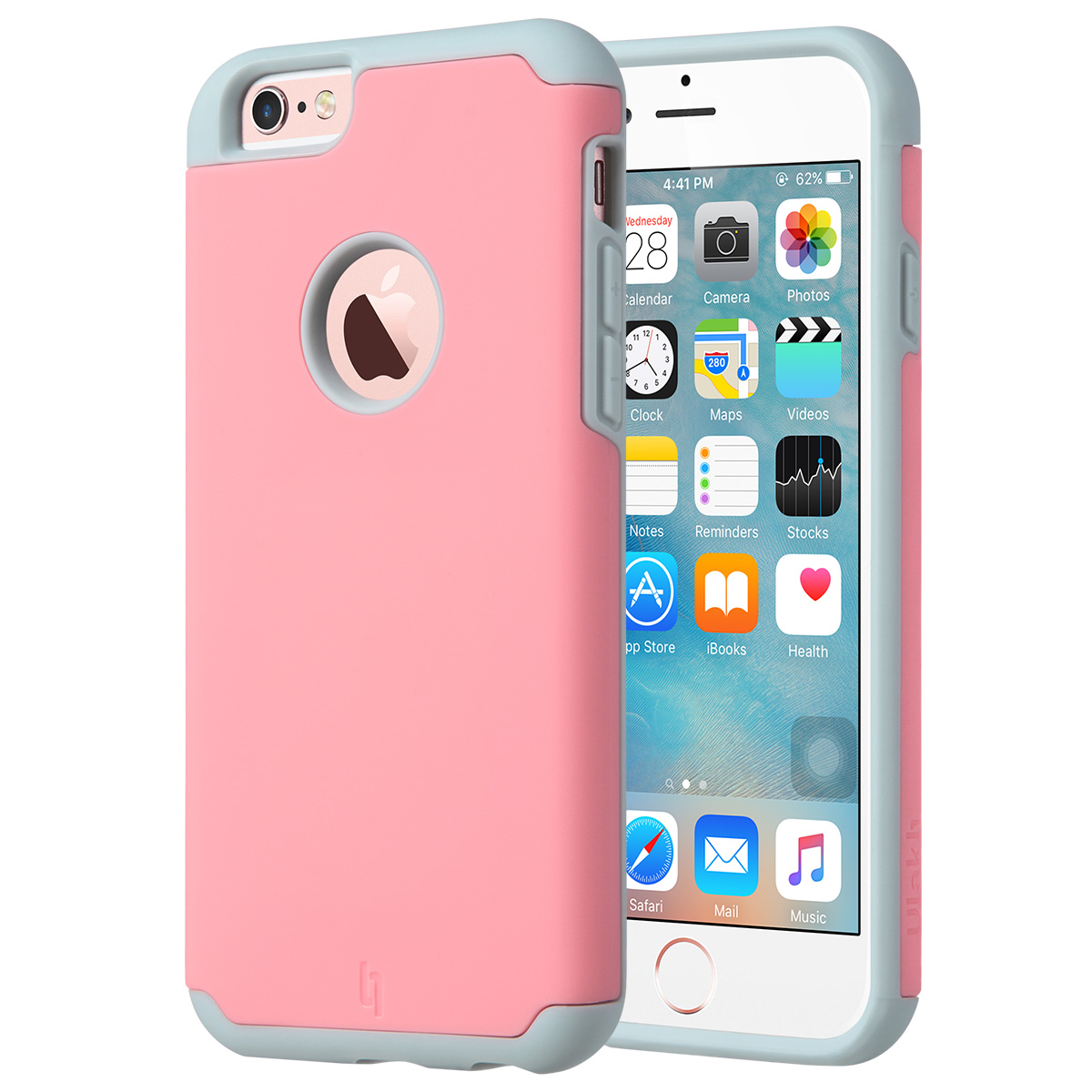 ULAK Shock Absorbent Hybrid PC & Silicone Case Bumper Cover for Apple iPhone 6s / 6 4.7 inch