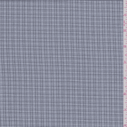 Grey Plaid Shirting, Fabric By the Yard