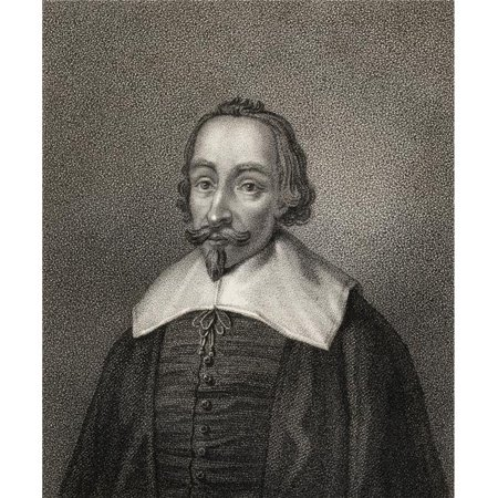 William Fiennes 1st Viscount Say & Sele 1582-1662 Engraved by Geremia From the Book A Catalogue of Royal & Noble Aut Poster Print, 24 x 30 - image 1 de 1