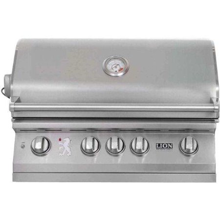Lion 32-Inch Stainless Steel Built-In Natural Gas BBQ -