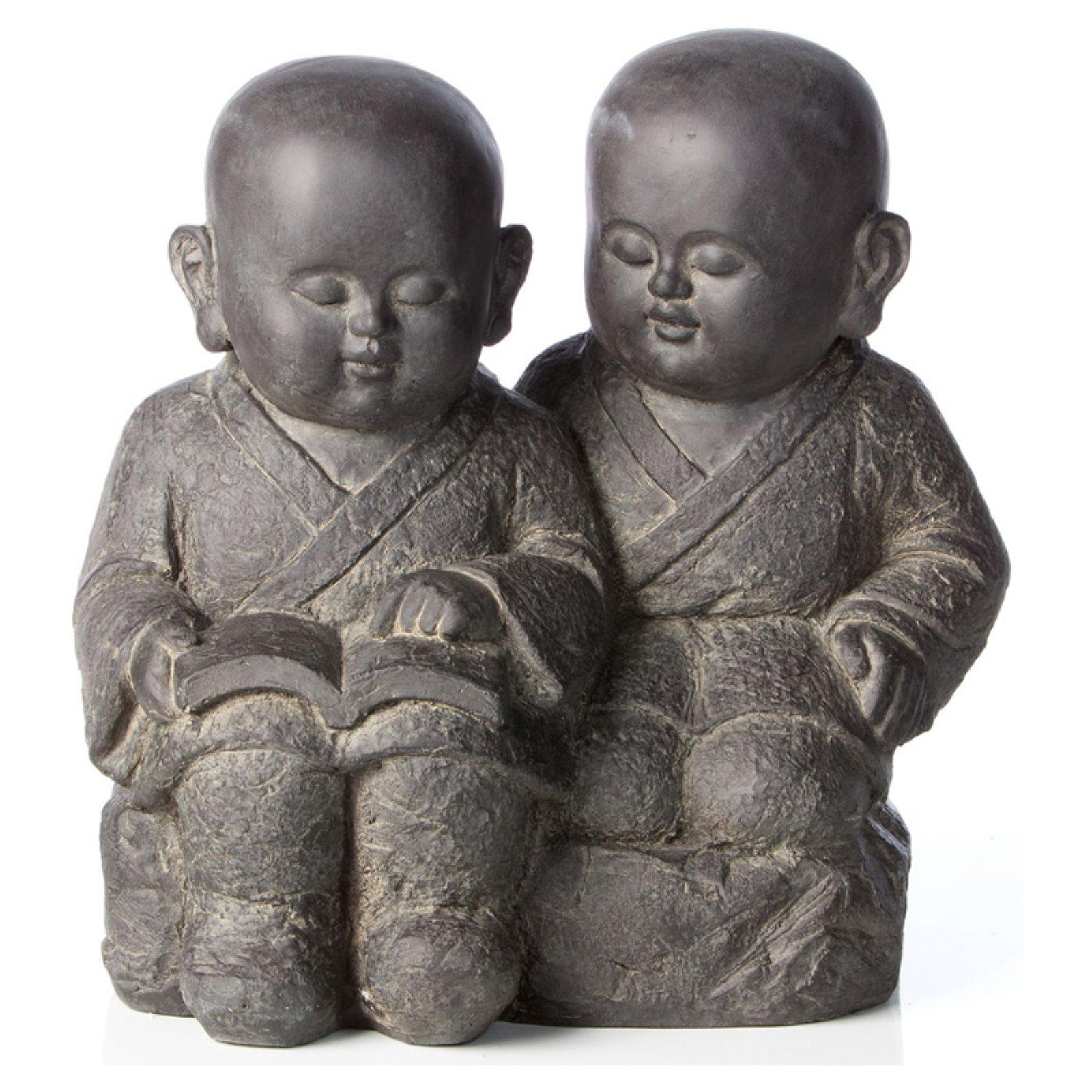 Alfresco Home Buddha Buddies Garden Statue