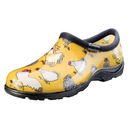Sloggers Waterproof Garden - Sloggers Women's Waterproof Chicken Print Comfort Shoes