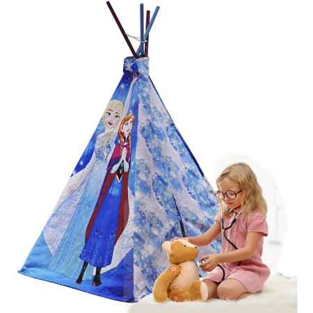 Disney's Frozen Kids Indoor Teepee Play Tent, 1
